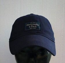 """Abercrombie & Fitch """" Baseball Cap """" with Logo IN Twill 100%Cotton 100%Original"""