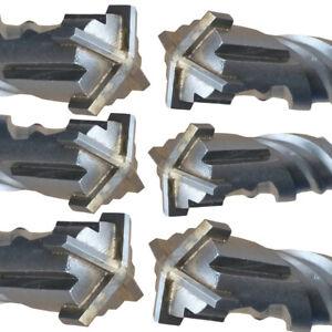 SDS PLUS / Max Betonbohrer Steinbohrer Ø4-40mm L:110-1200mm vierschneidig Bohrer
