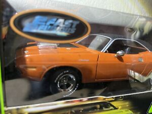 """RACING CHAMPIONS *THE FAST AND THE FURIOUS*1970 DODGE CHALLENGER  1/18 """"Dardens"""""""