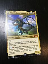 MTG MAGIC M19 NICOL BOLAS THE RAVAGER (FRENCH NICOL BOLAS LE DEVASTATEUR) NM