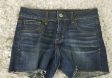 American Eagle Outfitters Super Stretch Shortie Dark wash Sz 6 (BD10)