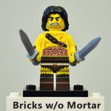 New Genuine LEGO Barbarian Minifig with Knives Series 11 71002