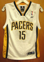 deacae422987 INDIANA PACERS youth med basketball jersey RON ARTEST size 10-12 Reebok NBA   15
