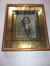Vintage Paul Victorius Florentine Gold Framed Print