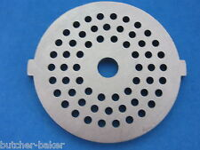 "1/8"" Fine Grind Meat Grinder plate disc die for electric Rival Sunmile Deni etc"