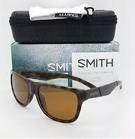 NEW Smith Lowdown Slim Sunglasses Tortoise Chromapop Polarized Brown $169