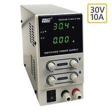 Labornetzgerät 0-30V 10A 300W Netzgerät Labornetzteil regelbares Schaltnetzteil