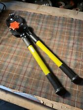 Klein Tools 63700 Cable Cutter Tool Gently Used Very Nice Ratcheting