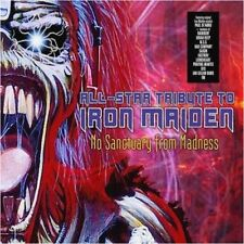 V/A - NO SANCTUARY FROM MADNESS - All-Star Tribute To Iron Maiden  (2-CD) DCD