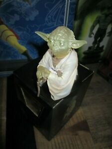 star wars-Gentle Giant- Buste YODA-Lumineux-Comme neuf-Edition limitée