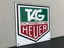 Tag Heuer rare metal advertising sign