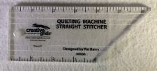 "Creative Grids Quilting Machine Straight Stitcher Designed By Barry 6"" Longarm"