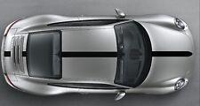 Porsche 911 (991) Bonnet /roof /Spoiler Stripe Decal Set Plain. Various Colours.