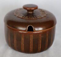 Vintage Retro Wedgwood Pennine Stoneware Sugar / Mustard Bowl with Lid