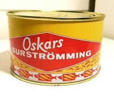 Oskars Surströmming 300g whole - surstromming herring