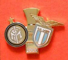 DISTINTIVO SPILLA PIN BADGE - INTER-LAZIO - FINALE COPPA ITALIA 2000