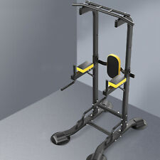 Workout Dip Station for Home Gym Strength Training Fitness Equipment Power Tower