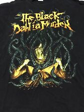 The Black Dahlia Murder- t shirt XL Tentacles EUC Rare