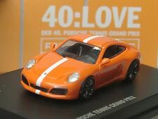 "Spark Porsche 911 Carrera S Tenis GRAND PRIX, "" 40: Love "", Dealer Modelo - 1/87"