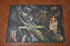 Original 1977 Vintage General Mills Star Wars Super-Poster from toy stores RARE!