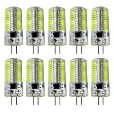 10pcs G4 Bi-Pin T5 72 4014 LED Light Bulb Crystal Chandelier Lamp 110V White