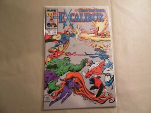 Excalibur #14 (Marvel 1989) Free Domestic Shipping