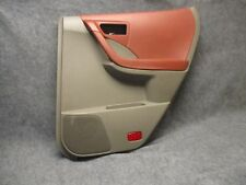 2003-2007 Nissan Murano RH Rear Power Door Panel Cabernet & Gray OEM 30457