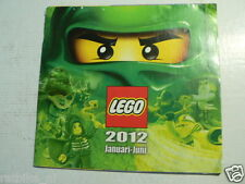 LEGO BROCHURE FLYER CATALOG TOYS 2012 DUTCH 82 PAGES 013