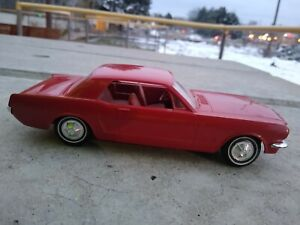1964 1965 1966 Ford Mustang Dealer Promo Car, Maroon / Red