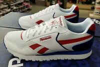 REEBOK MEN'S CLASSIC HARMAN RUN WHITE/RED/ROYAL EF8575