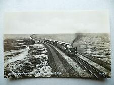 AK Hindenburg-Damm bei Sylt Eisenbahn