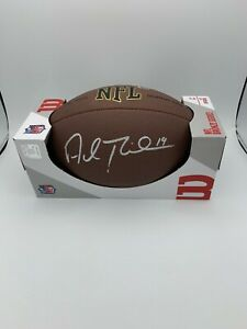 Adam Thielen Signed NFL Wilson 1795 Model Football Minnesota Vikings COA Holo
