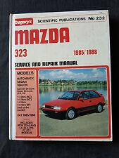 MAZDA 323 1985 -1988 SERVICE AND REPAIR MANUAL NO 232