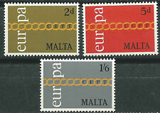 MALTA  EUROPA cept 1971 MNH