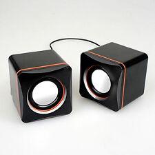 USB Portable Computer Laptop Speakers System Multimedia Desktop PC Speaker MAC
