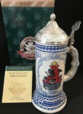 Anheuser Busch Collectors Club 2002 Member Stein EVOLUTION OF THE EAGLE ~ NEW