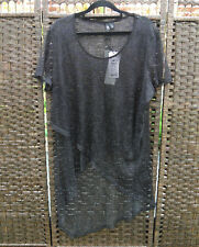 TS 14+ Stand Out Black Silver Top S BNWT RRP$109.95