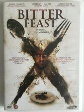 Bitter Feast (DVD, 2012) Rare Danish Import, Psychological Horror Film, Region 2
