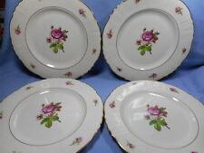 "Federal Shape Syracuse China  4 Dinner Plates 10""  Victoria"