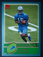 NFL 349 Travis Anglin Detroit Lions Topps Rookie 2003