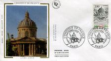 FRANCE FDC - 2973 1 INSTITUT DE FRANCE - 14 Octobre 1995 - LUXE sur soie