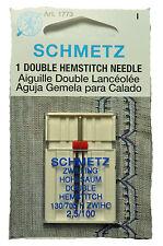 Schmetz Double Hemstitch  Sewing Machine Needle 2,5/100