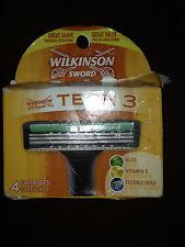 Wilkinson Sword Tech 3 Cartridges  4 Cartridges