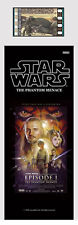 Film Cell Genuine 35mm Laminated Bookmark Star Wars Episode I Phantom Menace 340