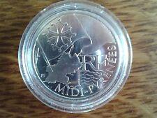 france 10 euros argent 2010 midi-pyrénées