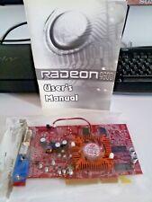 SCHEDA VIDEO ATI RADEON 9600 R96-C3G-128MB pc desktop  AGP 8X VGA DVI