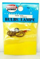 Model Power - #395 - 14 Volt Clear Bulb Gas Pea Lamp - Free Shipping