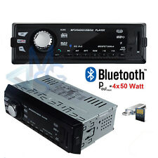 Autoradio Stereo MP3 Aux SD Bluetooth Vivavoce compatibile con IOS e Android