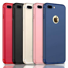 ULTRA THIN SILICON CASE COVER SHOCKPROOF SLIM FIT - FOR IPHONE 12 XR X 8 7 6S SE