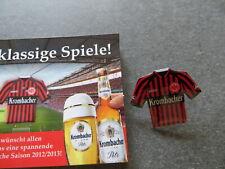 Eintracht Frankfurt Trikot Pin Anstecker Werbung Krombacher Brauerei
